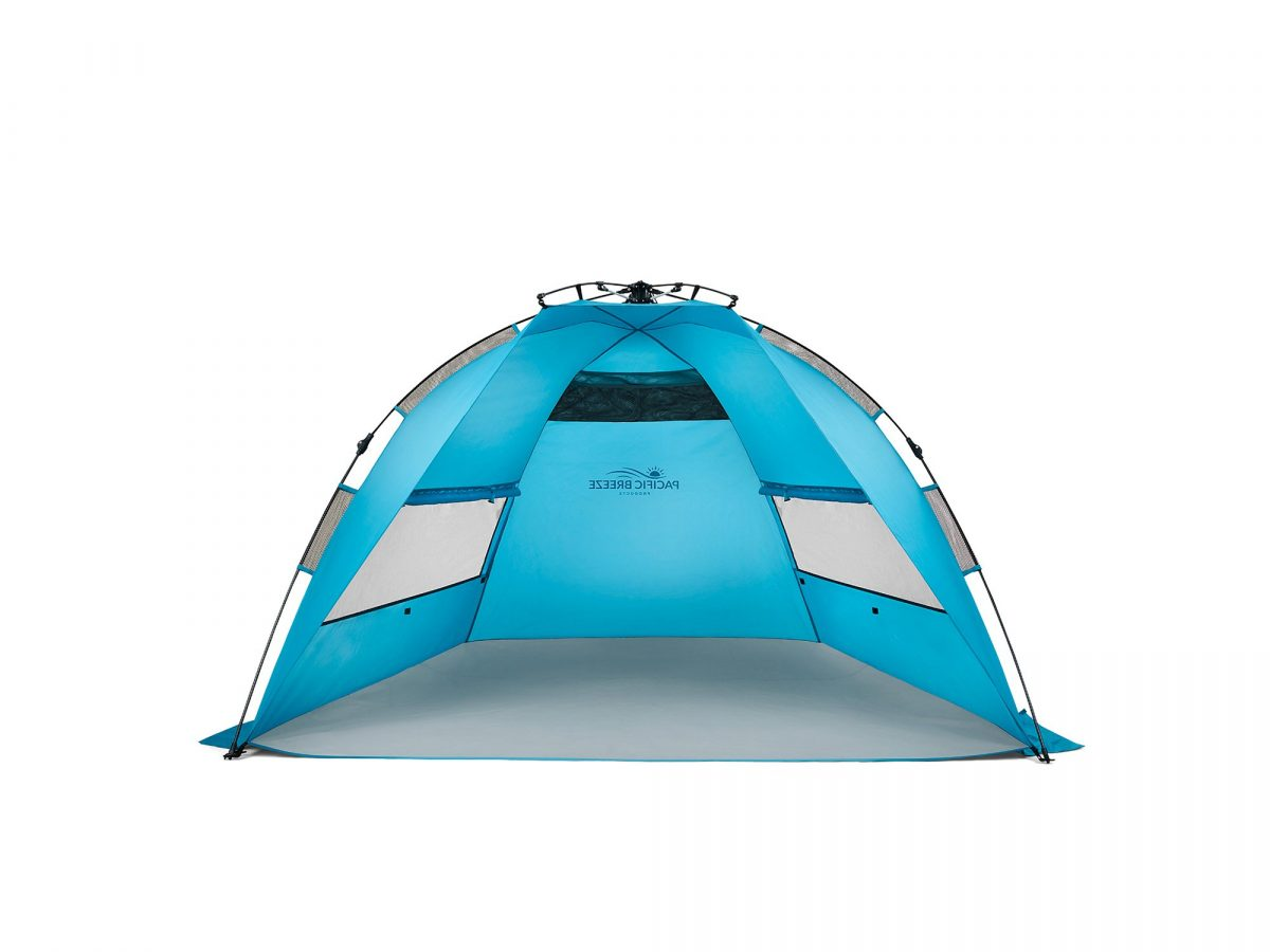 Pacific Breeze Easy Set-Up Beach Tent