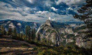 National Park, Yosemite, Landscape, California
