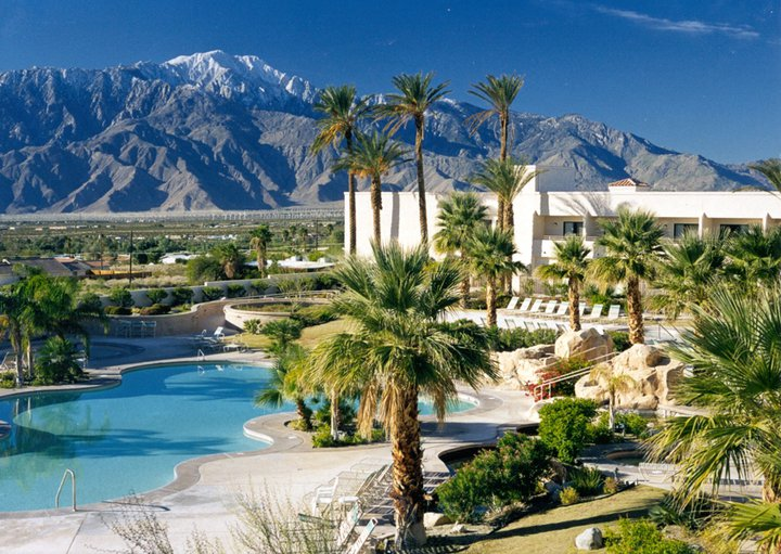 The view from Miracle Springs Resort
