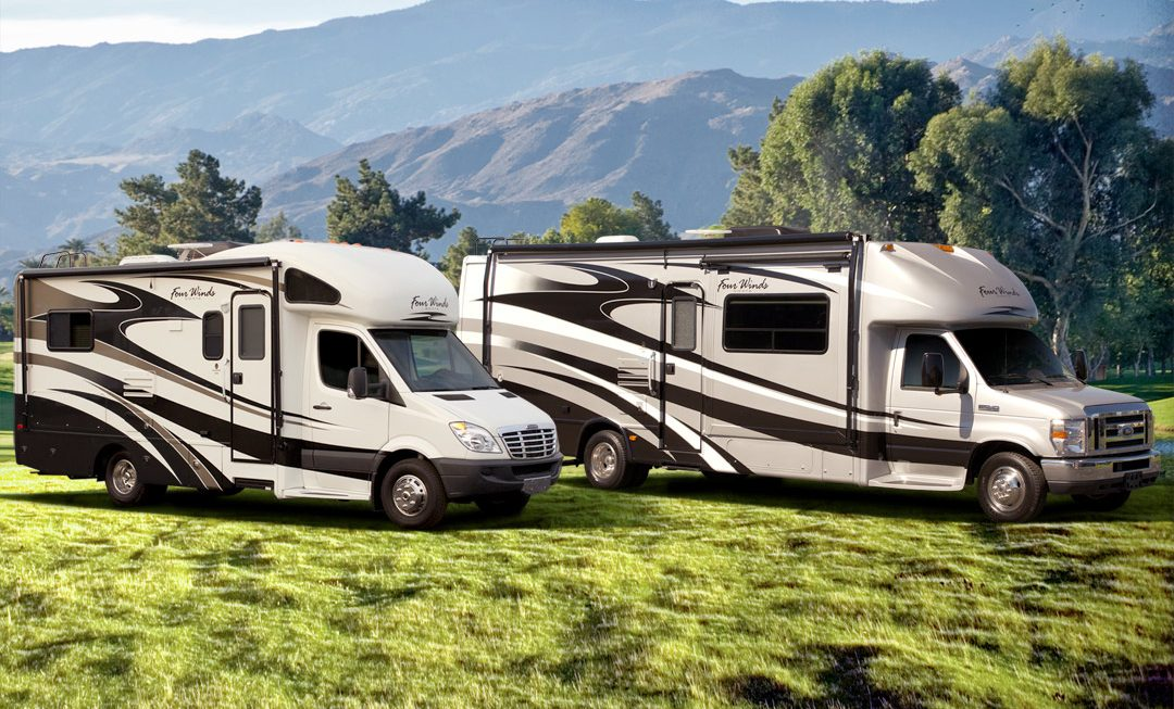 Motorhome RV Class C Sprinter Ford Chassis 1080x653 - Small RV vs Big RV - Our Verdict For Your Road Trip