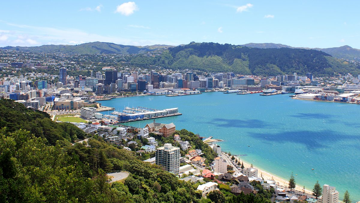 The best vantage point to admire Wellington's beautiful waterfront skyline, Mount Victoria is worth the climb