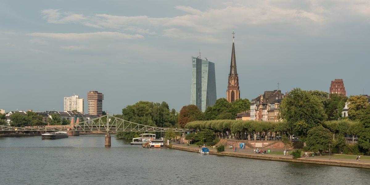 Museum District in Frankfurt, Germany