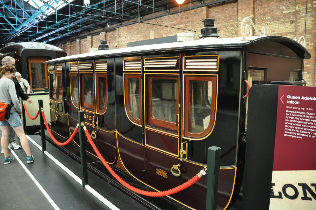 Exhibition of railways carriages at National Railway Museum Adelaide