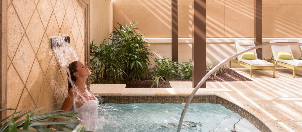 A soothing experience at the Four Seasons Spa