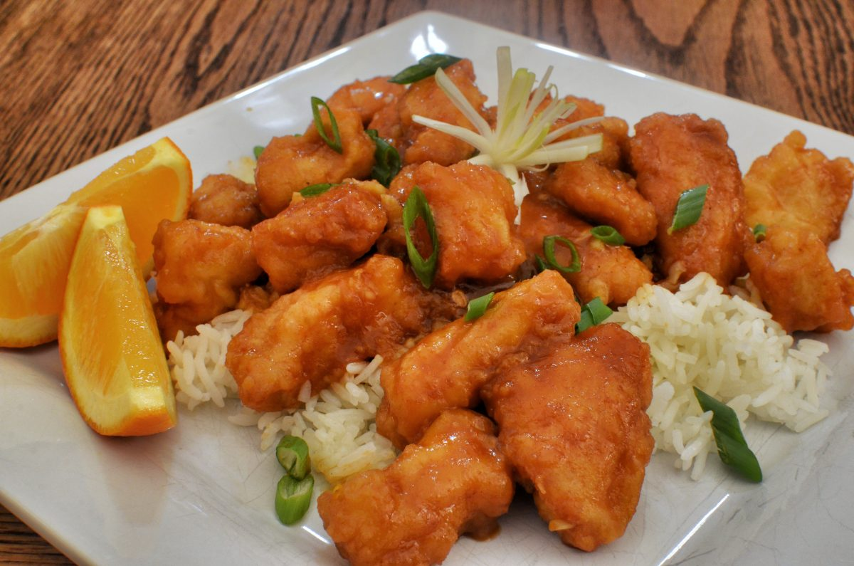 Like General Tso's chicken, Orange Chicken is an American take on China's popular sweet and sour dishes