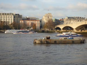 South Bank Of Thames, London