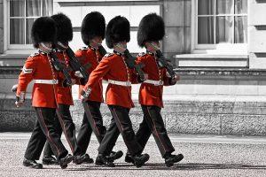 Beefeaters, London Guards, Buckingham Palace, London