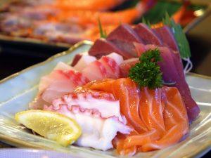 Sashimi, Sushi, Nigiri, Japan