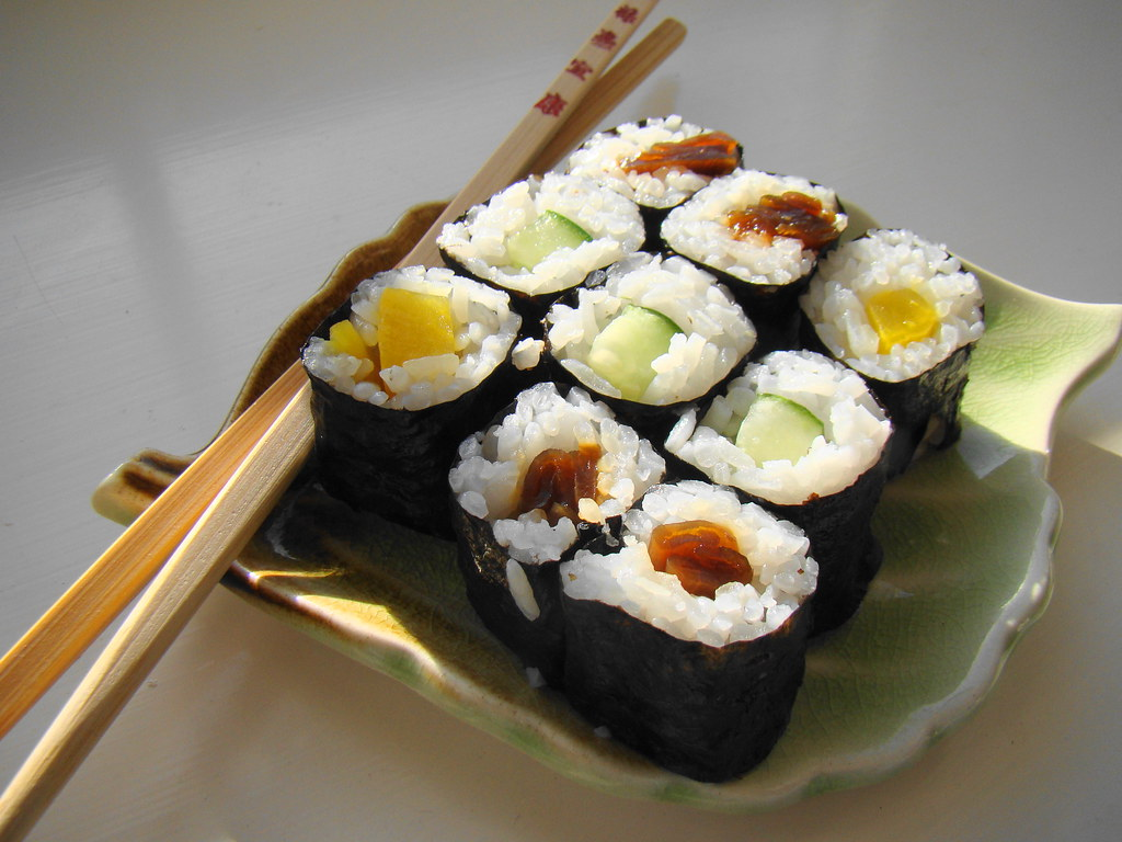 Maki, Temaki, Sushi, Nigiri, Japan