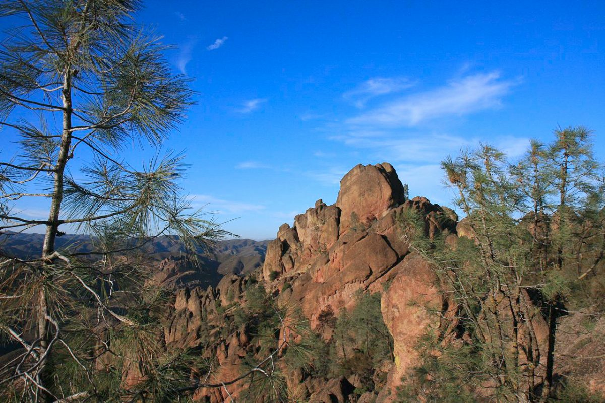 Pinnacles trekking trail