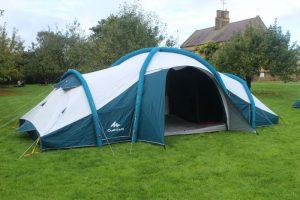 Quechua pop up tents for families