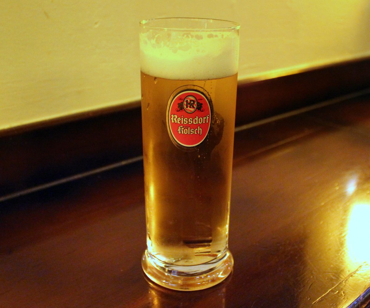 A pint of German Beer