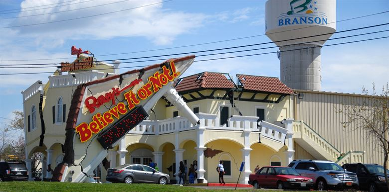There is plenty to marvel at when you visit Branson's Ripley's Believe It or Not!'s more than 450 quirky exhibits