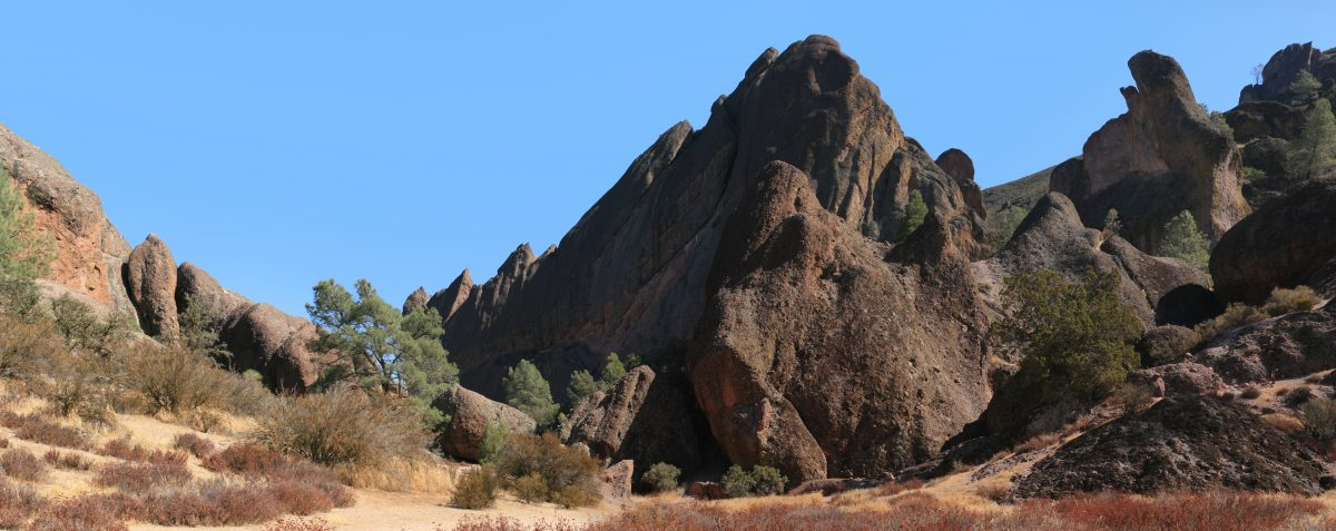 Old Pinnacles hiking trail