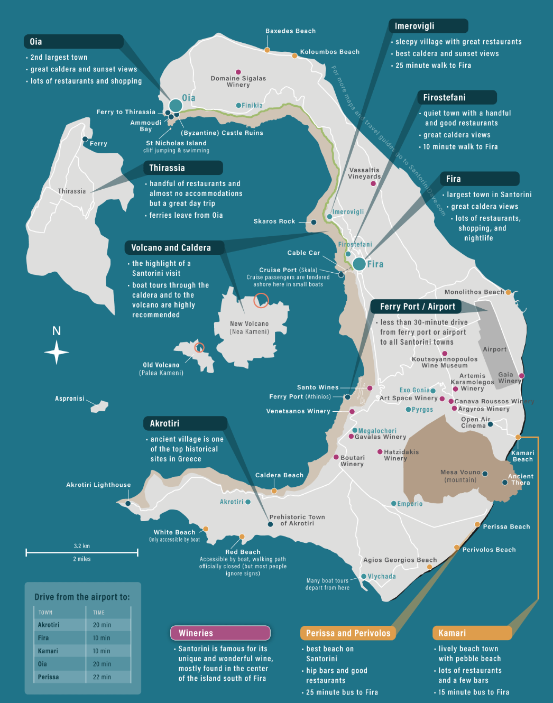 Top Things To Do In Santorini Greece Touristsecrets