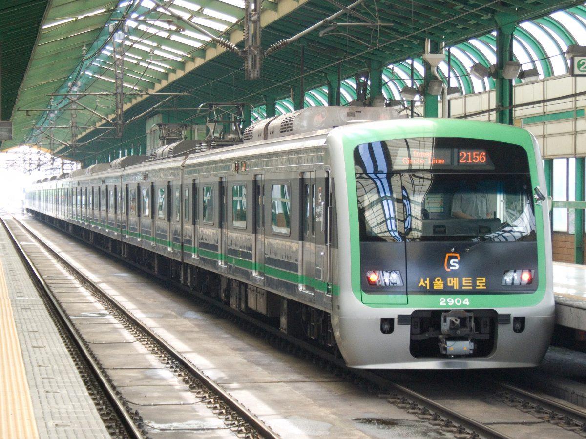 Korea Subway Train