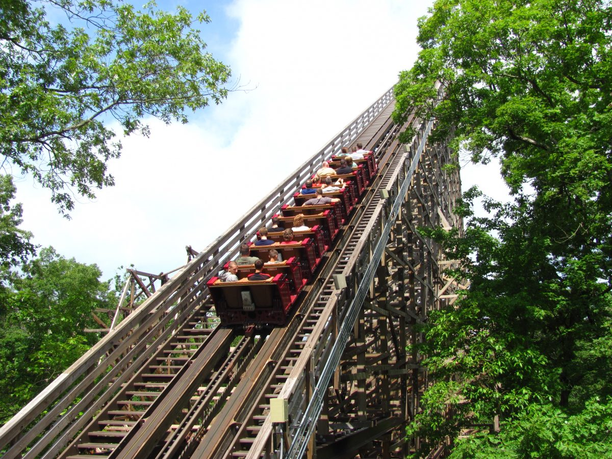 Branson's Silver Dollar City features more than 40 rides, award-winning restaurants and 60 specialty shops