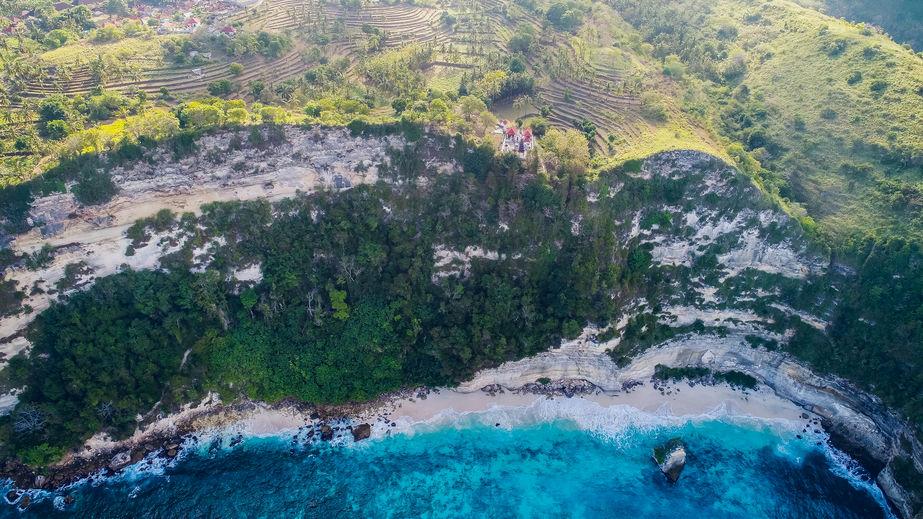 Suwehan beach at Nusa Penida island Bali, Indonesia