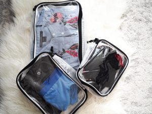 Tranvers Packing cubes for travel