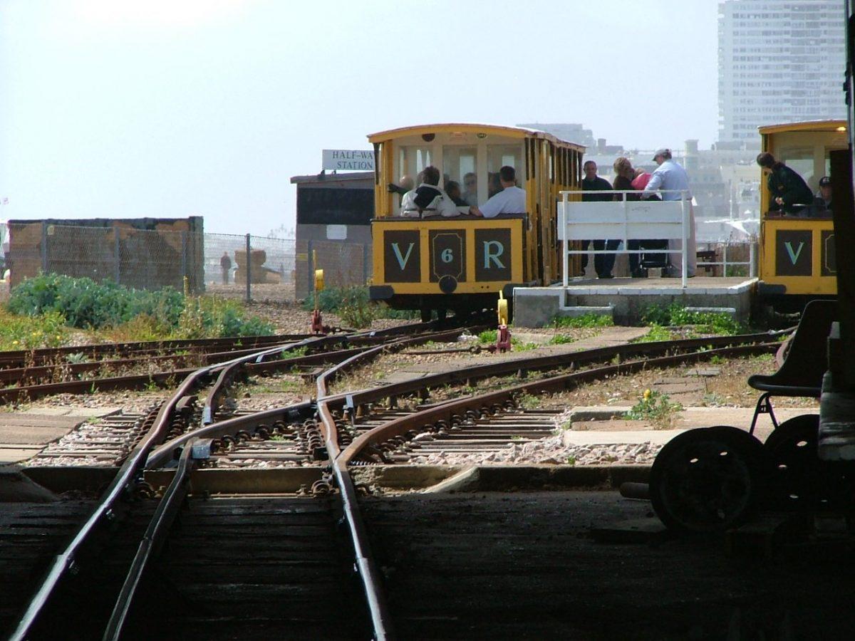 volk's electric railway brighton