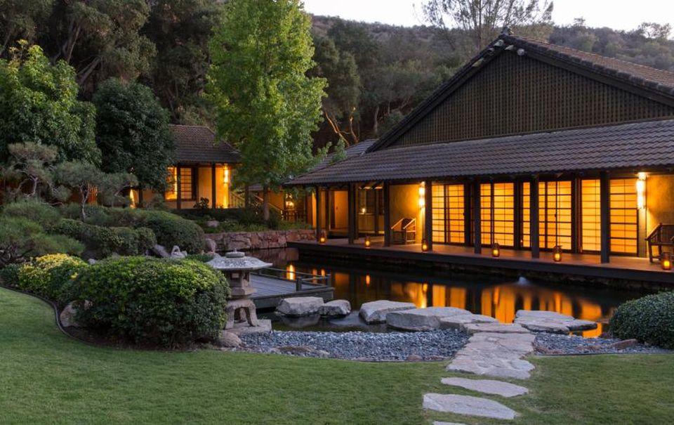 The Golden Door Spa in California