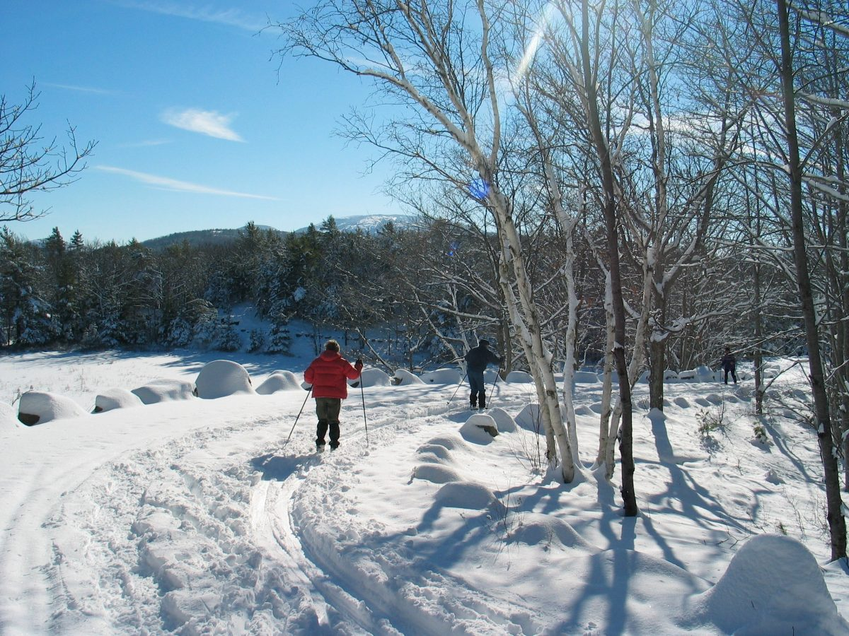 Nordic skiers in Maine come winter