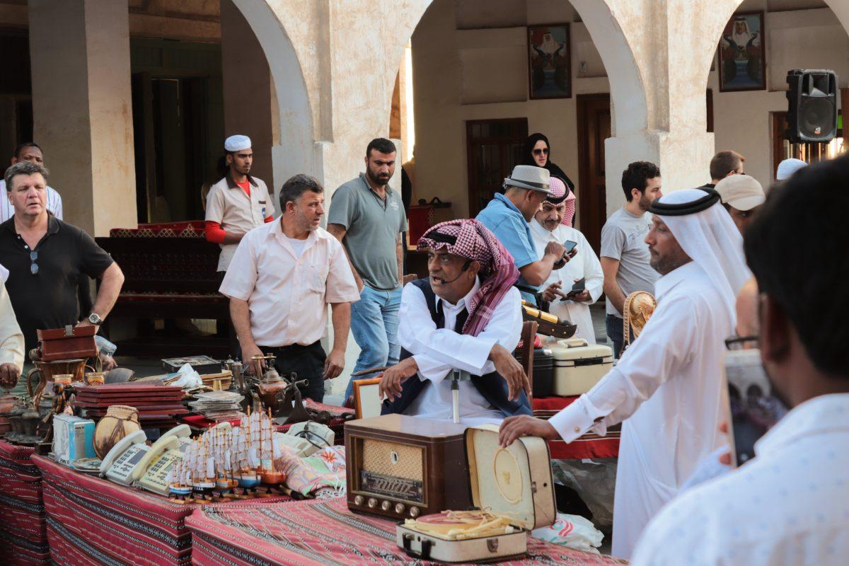 Local Emirati Souk at Abu Dhabi