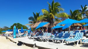Uvas Beach Club, Playa Uva Sur, Cozumel, Mexico