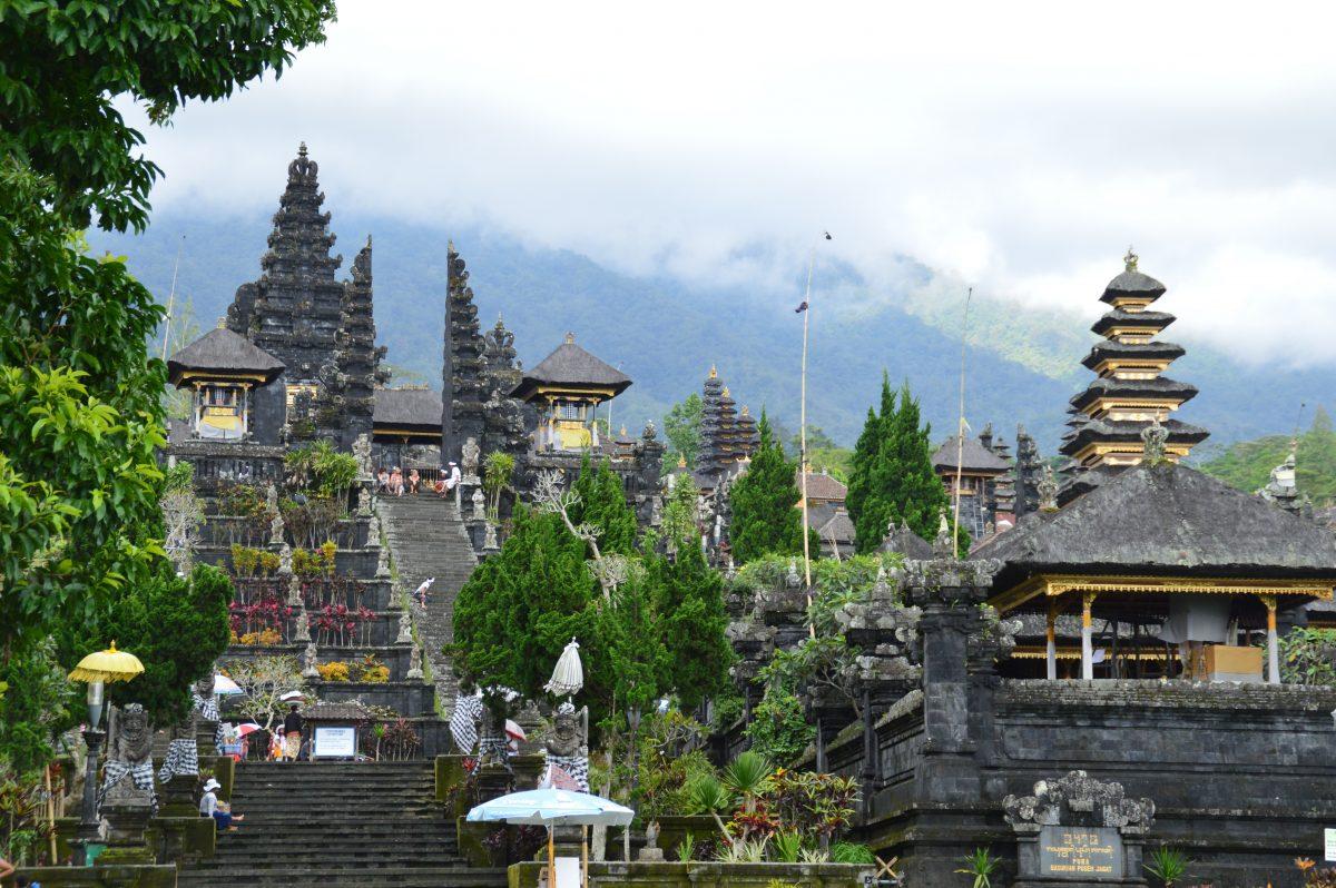 Bali famous Besakih Temple photo spot
