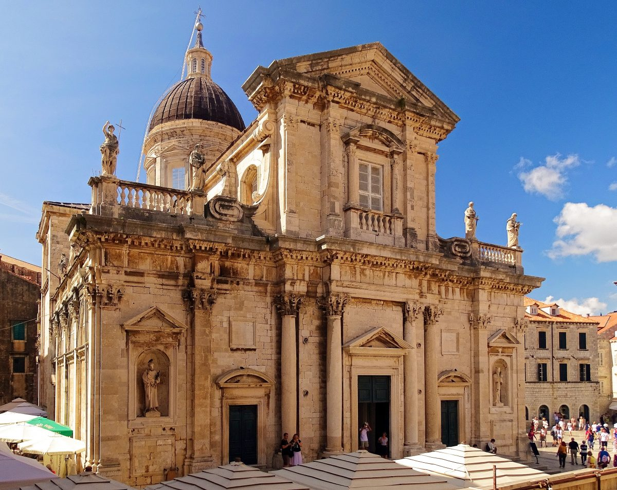 The Assumption of the Virgin Mary in Dubrovnik