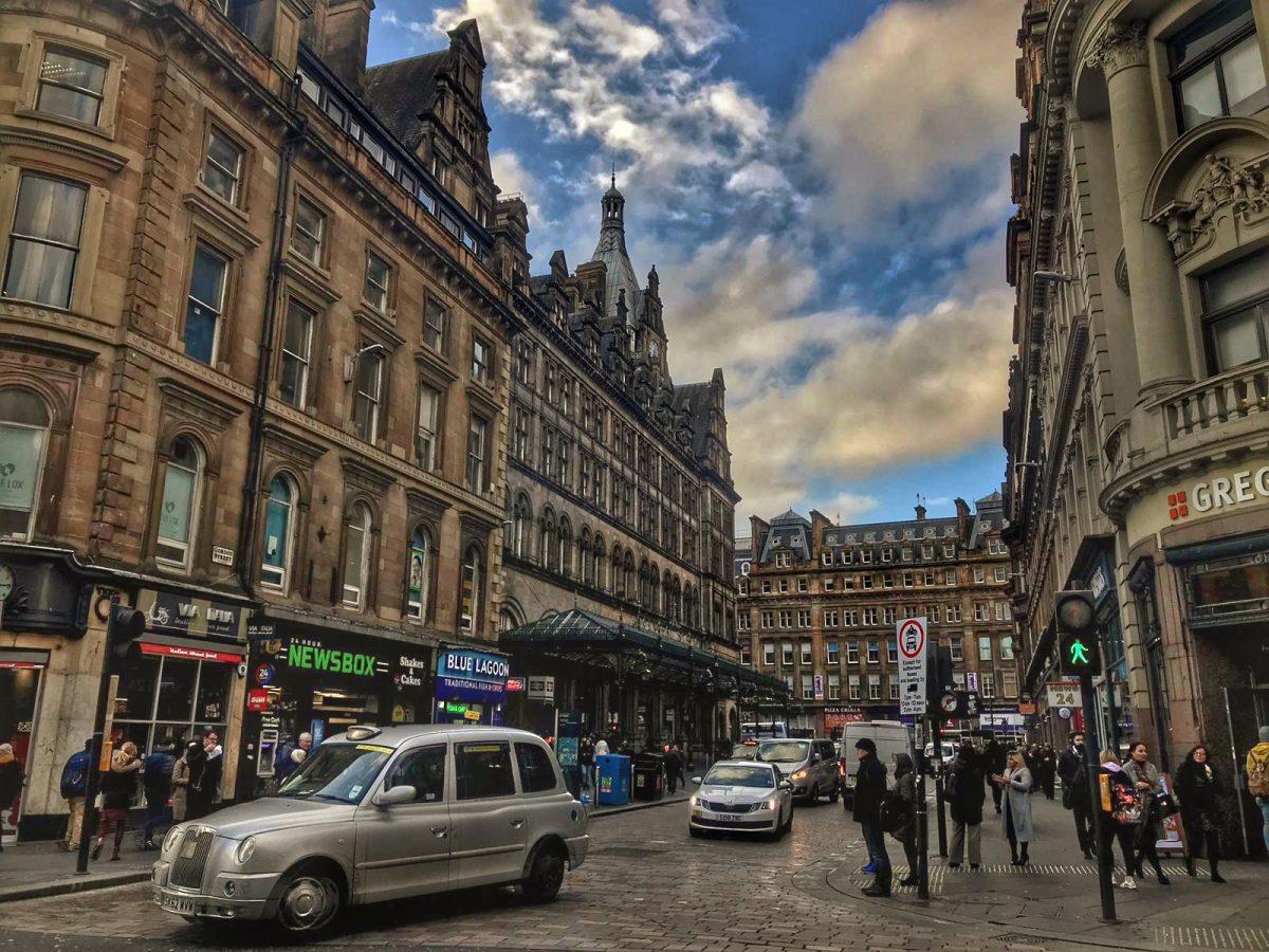 The Central Glasgow, Scotland