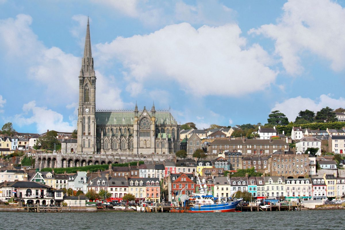 Enjoy the colourful architecture of Cobh in ireland