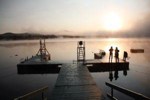 Morning sunrise in Maine
