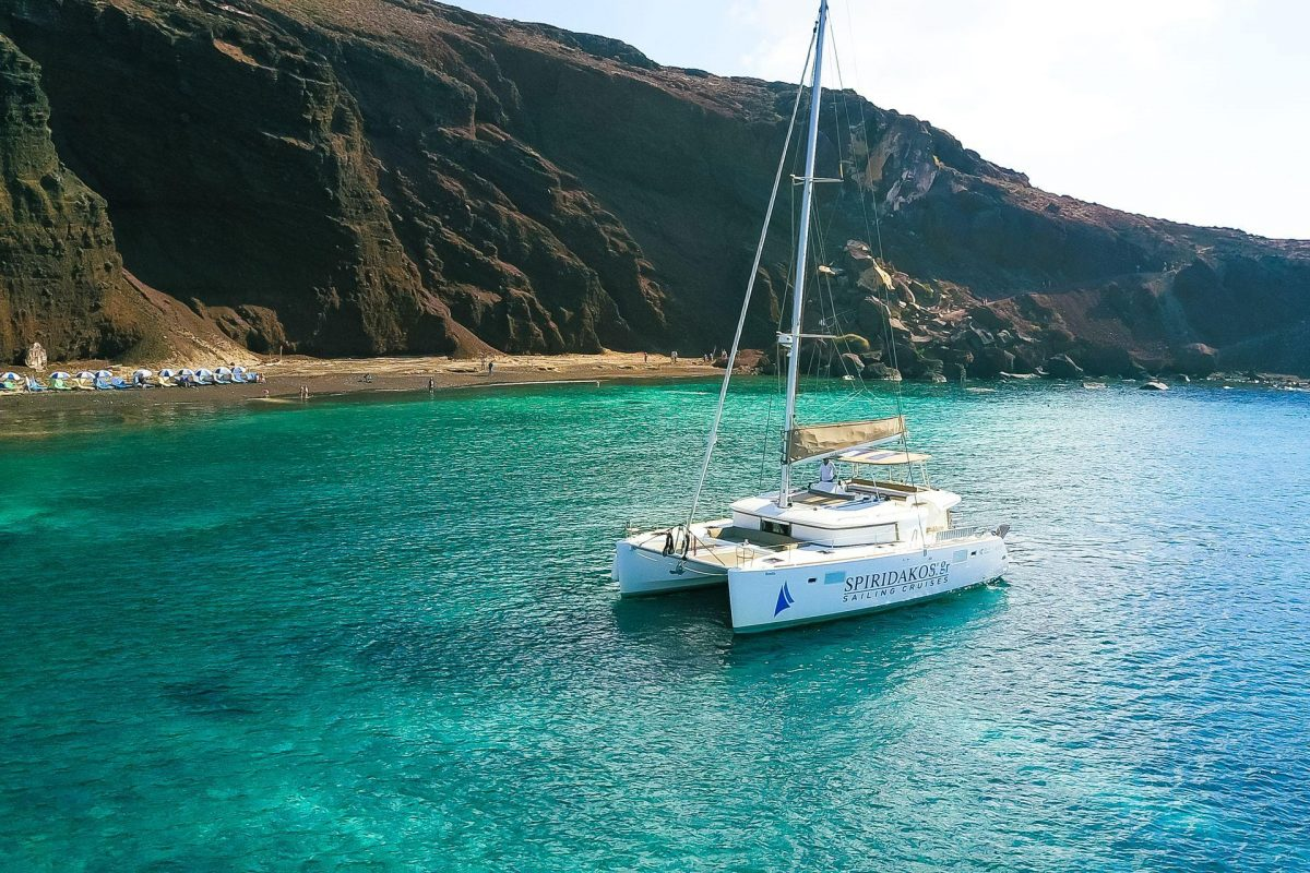 Sail around the Caldera, Santorini, Greece