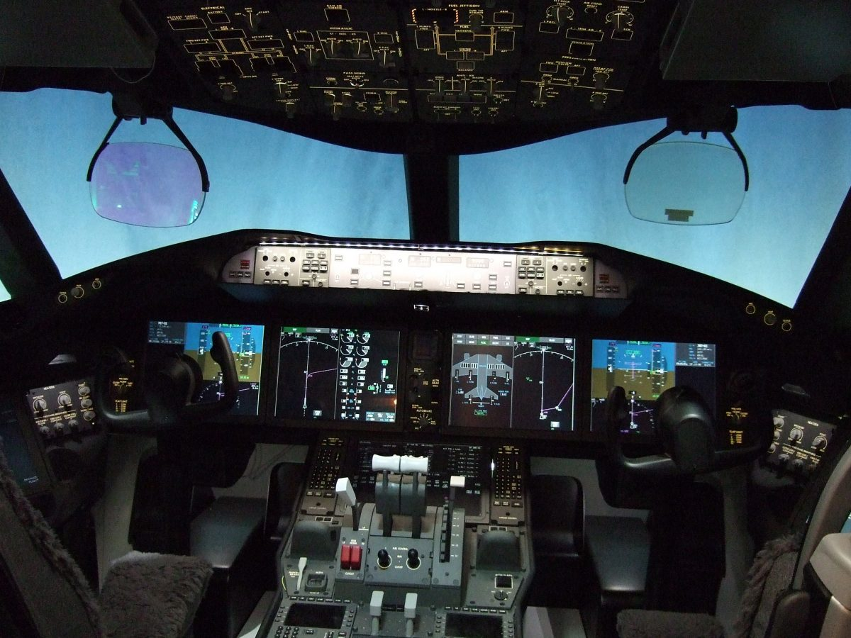 You can experience what it is like to pilot a Boeing 737 at Anaheim's Flightdeck Flight Simulation Center