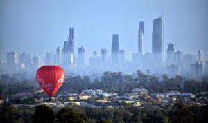 Hot Air Balloon, Gold Coast, Australia
