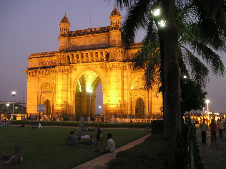 A bustling metropolis, Mumbai is the biggest city in India, featuring iconic tourist attractions such as the Gateway of India