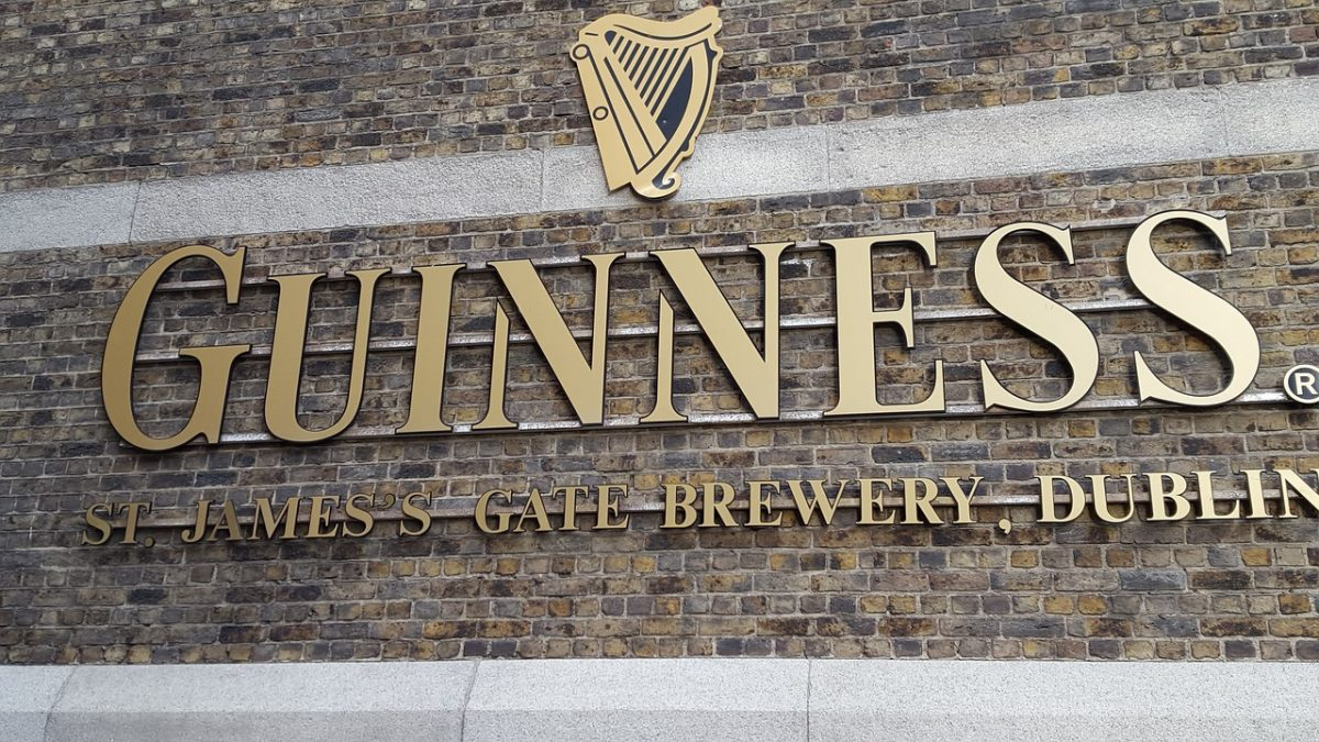 Guinness Storehouse in Ireland