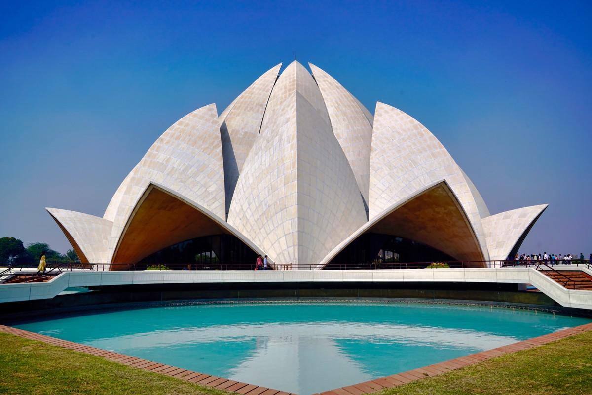 The Lotus Temple, New Delhi , India