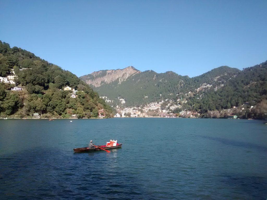 Lovely Nainital Lake,