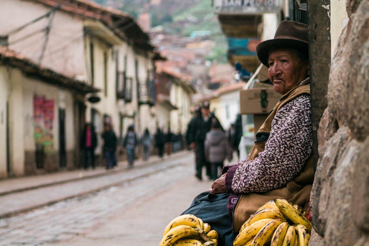 Traditional side of Cusco in Peru