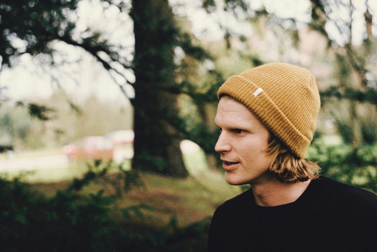 Man wearing a beanie cap