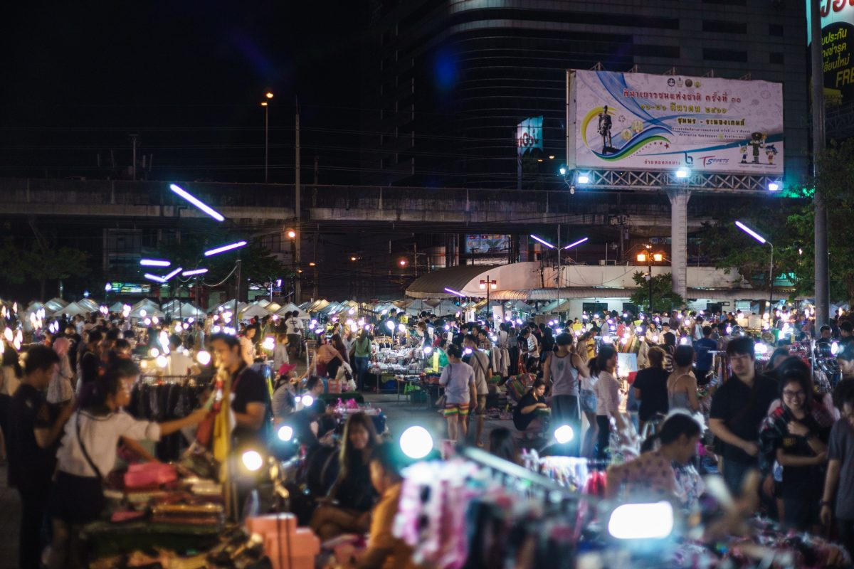 Weekend Night Market in Phuket