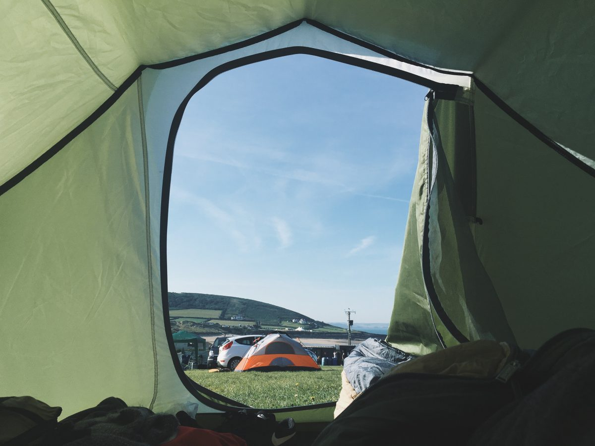 robert bye LQmxzVuoWFo unsplash - Guide To Buying The Best Beach Tent For A Cool Camping Experience
