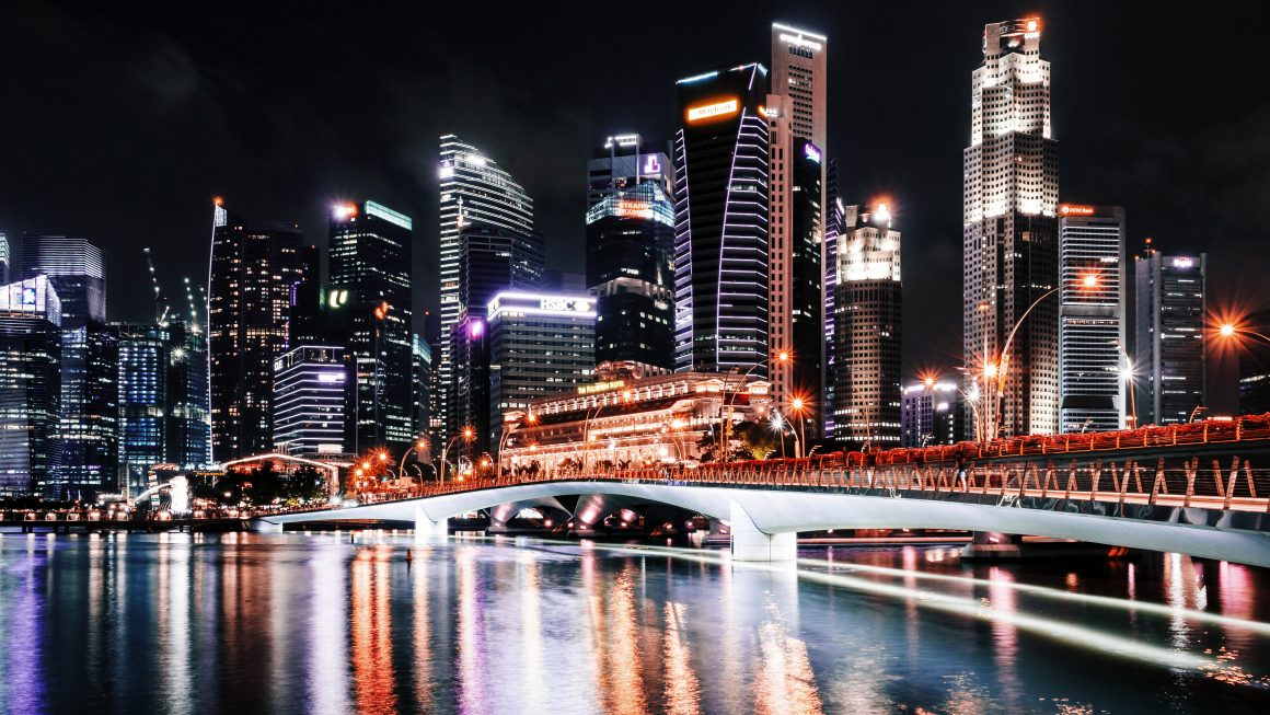 towers bridge skyscrapers cityscape in singapore 1160x653 - Where Is Singapore And What Can I Expect?