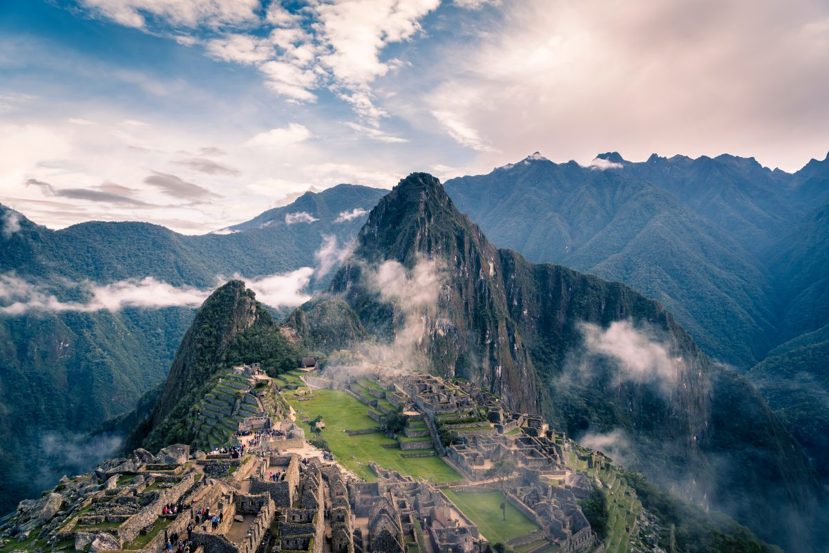 Beautiful scenery of Machu Picchu, Peru