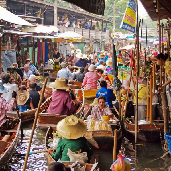 Damnoen Saduak Floating Market In Bangkok – All you need to know
