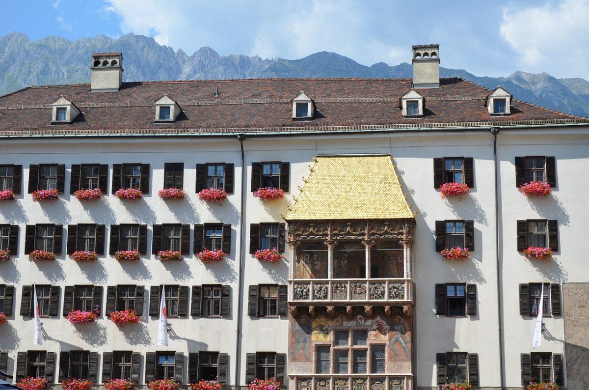 Golden Roof building in Innsbruck