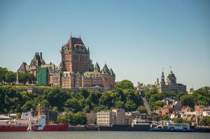 10 Château Frontenac towers above Old Quebecs Lower Town situated atop the promontory of Quebec AUTHOR Jean Philippe Bourgoin CC BY SA 3.0 300x199 - Things To Do In Quebec City, Canada