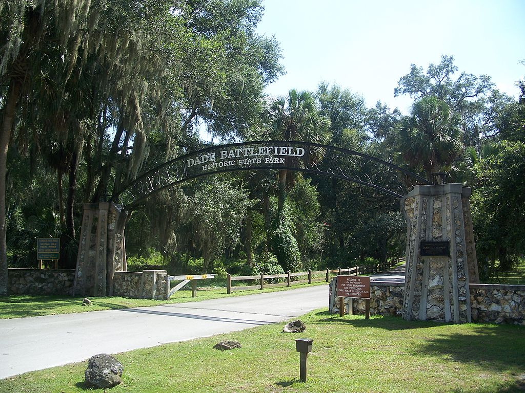 Dade Battlefield Historical Park, Garden entrance